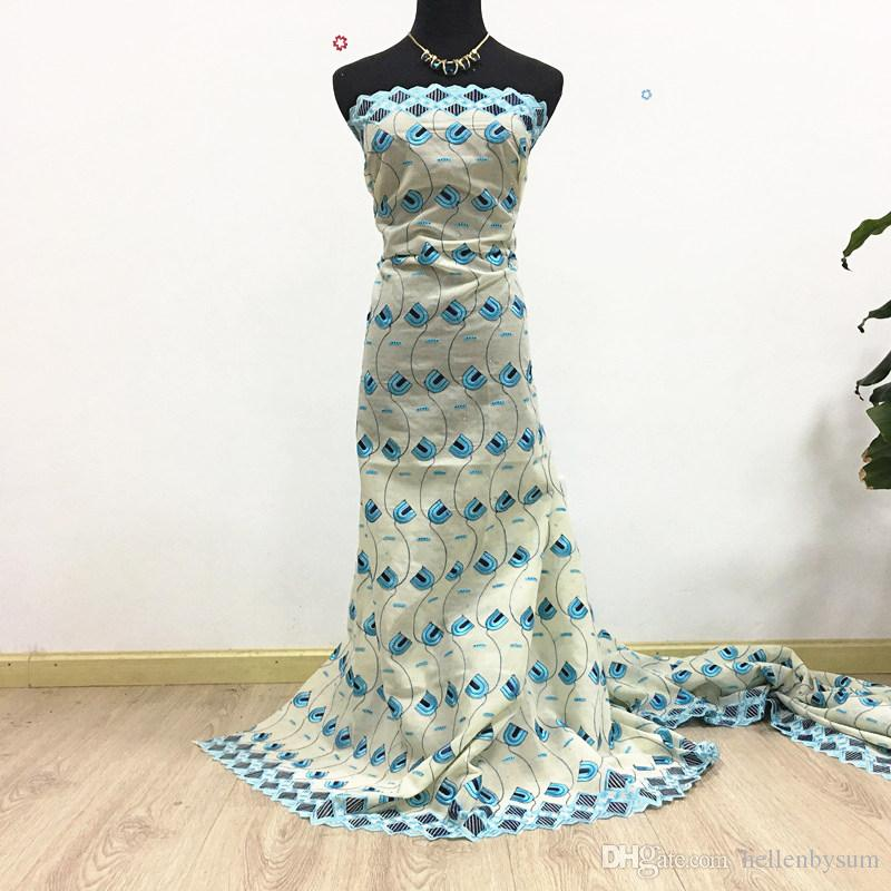 Sıcak Satış Afrika Swiss Voile Dantel, 1013 Ücretsiz Kargo 5 kilometre / paket,% 100 pamuk Afrika Düğün Kuru Dantel Elbise