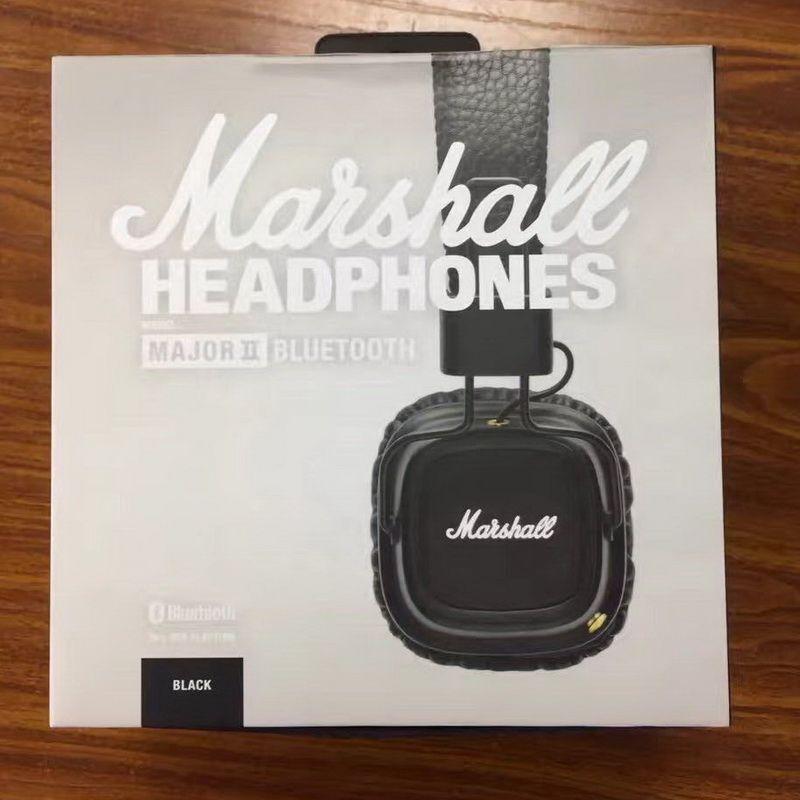 Marshall Major II 2.0 Bluetooth Auriculares inalámbricos Auriculares DJ Graves profundos Auriculares con aislamiento de ruido para iPhone Samsung Teléfono inteligente