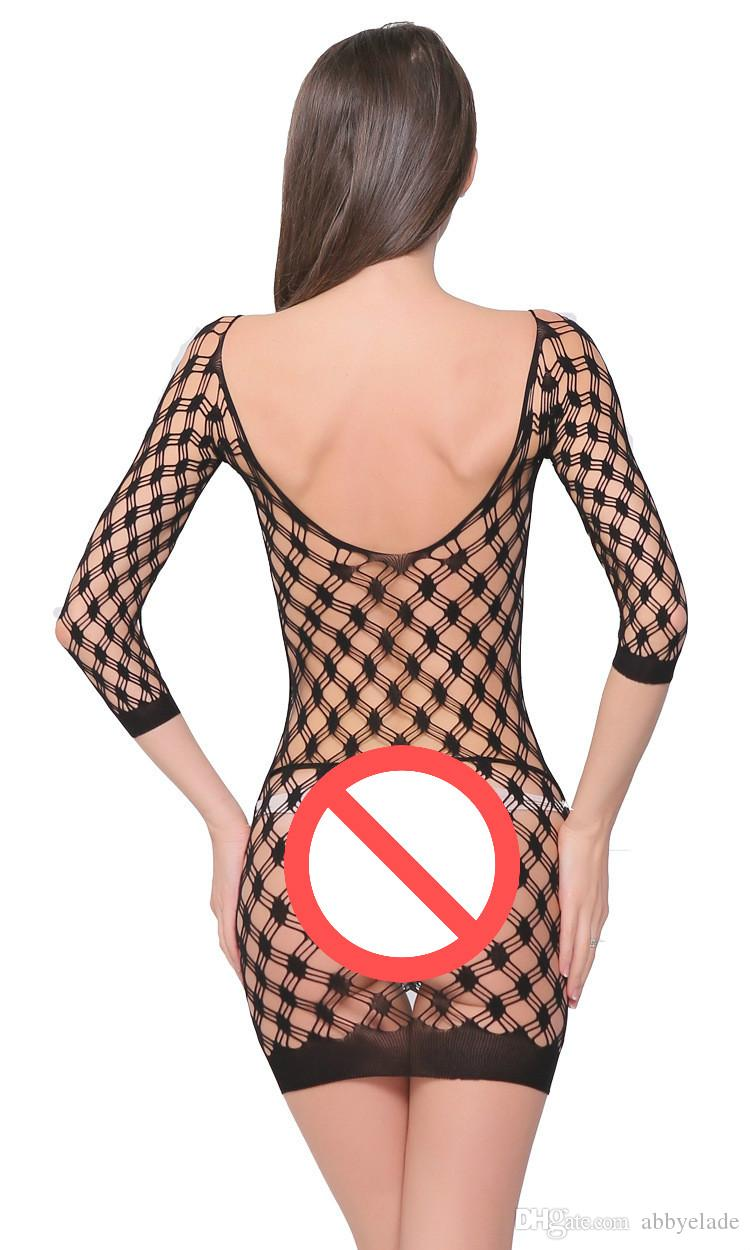 Sexy Free Размер Lenceria Mesh Bodystockings Onesie Белье сеточка чулки для женщин Горячие сексуального износа клуба Teddy белья