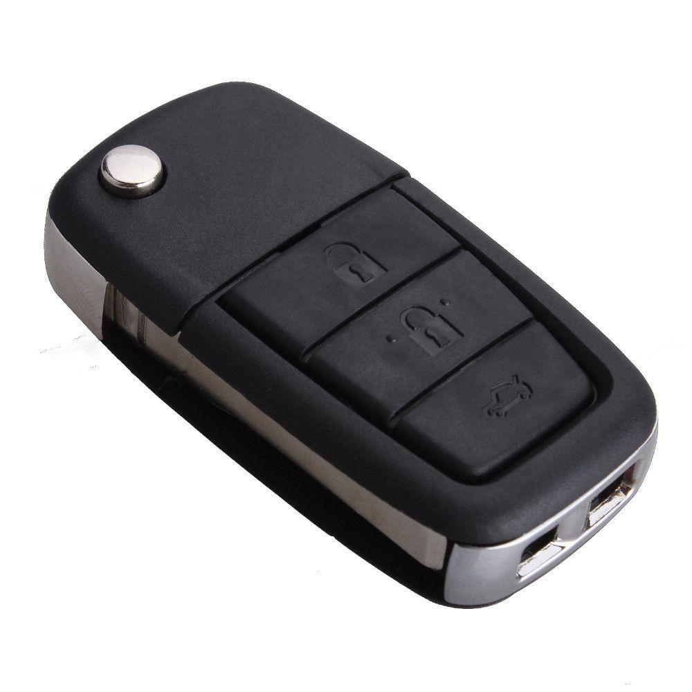 4 кнопки флип флип ключ ввода дистанционного Shell чехол с лезвием для Holden ve Commodore