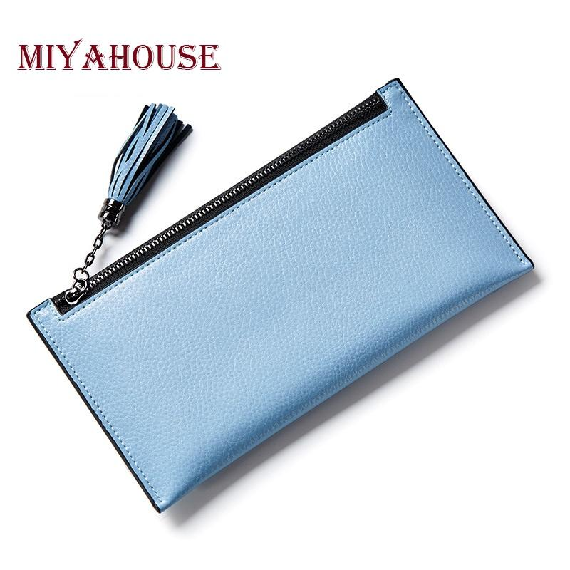Card & Id Holders Slim Wallet Fashion Card Holder Short Bag 2019 Small Pu Leather Credit Card Holders Thin Tassel Zipper Wallets Coin Pocket