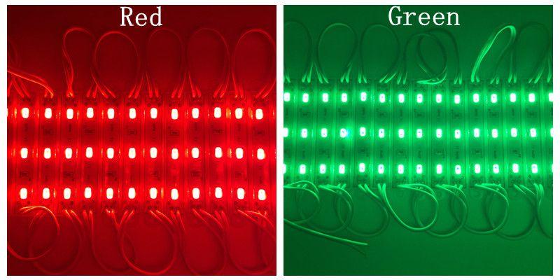 DC12V SMD 5730 3LEDs LED Modules IP65 Waterproof Light Lamp 5730 White/Red/Green/Blue High Quality Advertising Light