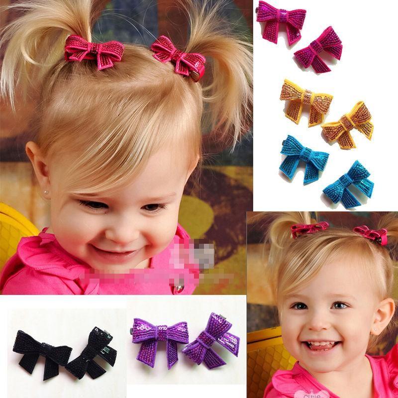 2fad1c6ccd9dd Children Hair Accessories Baby Hair Clips Kids Sequin Bow Barrettes Hair  Slides Baby Accessories Girl Hairpins Cute Hair Accessories Hair Accessories  For ...
