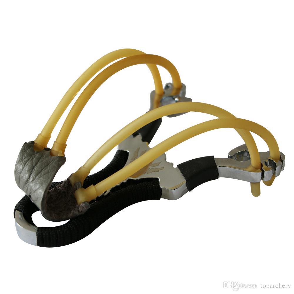 تصميم جديد جودة عالية جيب قوس recurve المقلاع قوية الفولاذ المقاوم للصدأ المنجنيق الرياضة في الهواء الطلق الصيد المقلاع شحن مجاني