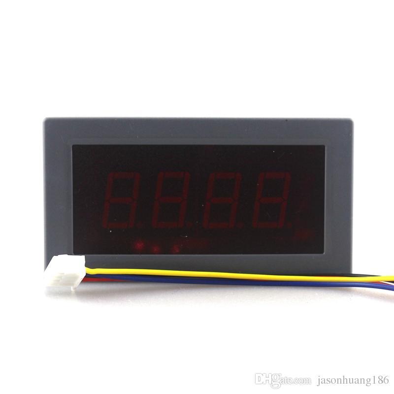 Alta Precisão Digital Amperímetro DC-500A para + 500A Amp Tester Positivo e Negativo Medidor de Painel de Corrente 5 V Display LED Vermelho Frete Grátis