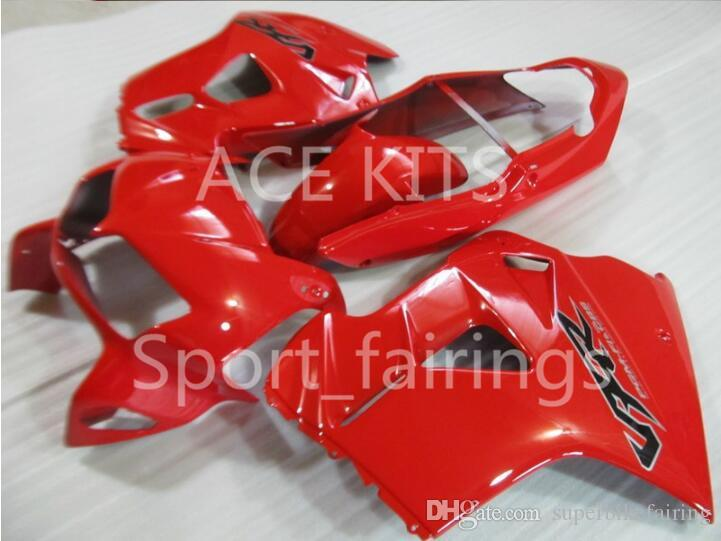 kit carenatura del motociclo HONDA VFR800 98 99 00 01 VFR 800 1998 1999 2000 2001 ABS carenature caldo rosso set + 3 regali VB02