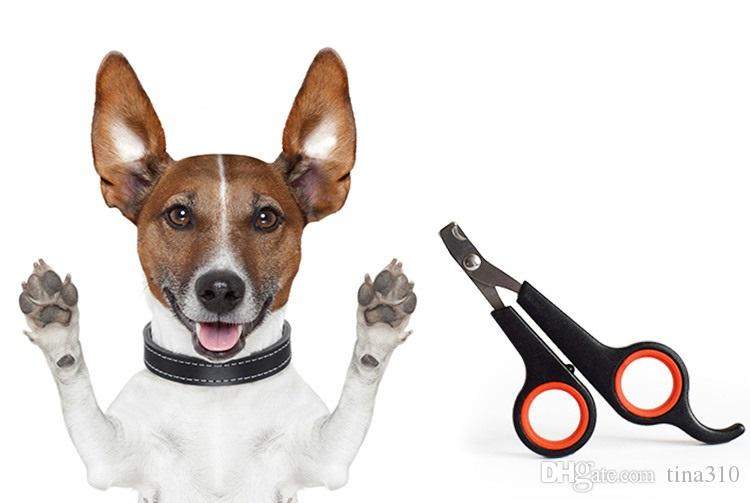 De haute qualité Pet Dog Nail Clipper soins de chat Ciseaux de toilettage Trimmer 12 * 6cm Couleur Noir Pet Supplies IC750