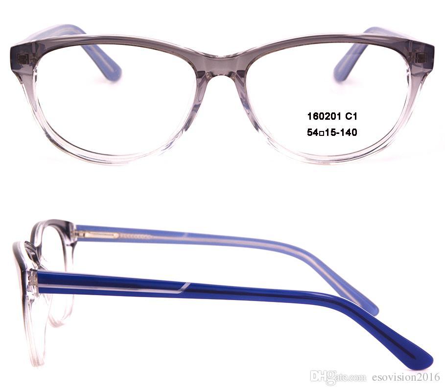 Occhiali montature da vista Occhiali da vista uomo e donna Occhiali da vista occhiali da vista Occhiali da vista MYOPIA in vendita in alta qualità Ovale 160201