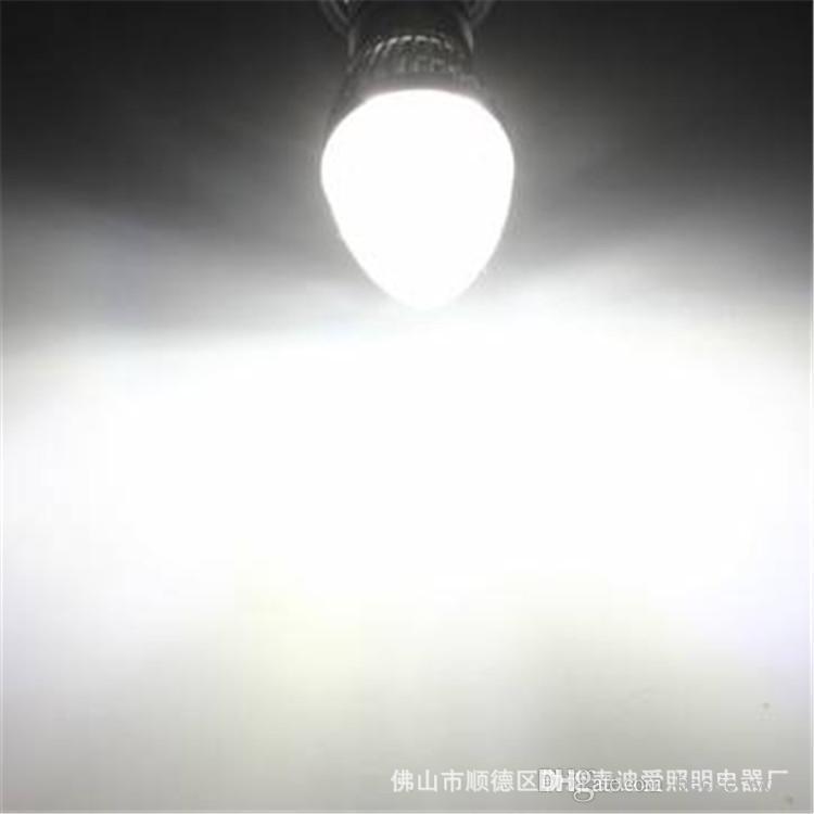 5 teile / satz 3 watt 4 watt 5 watt high power led kerzenlicht E14 / E27 / E12 / B22 silber / gold hause basis C. T: 2700 Karat - 6400 Karat, 110lm / w, Epistar chip 3 jahre garantie