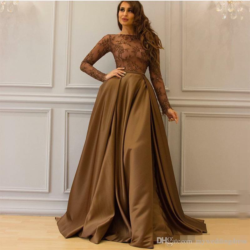 see through dubai arabic kaftan long sleeves lace evening