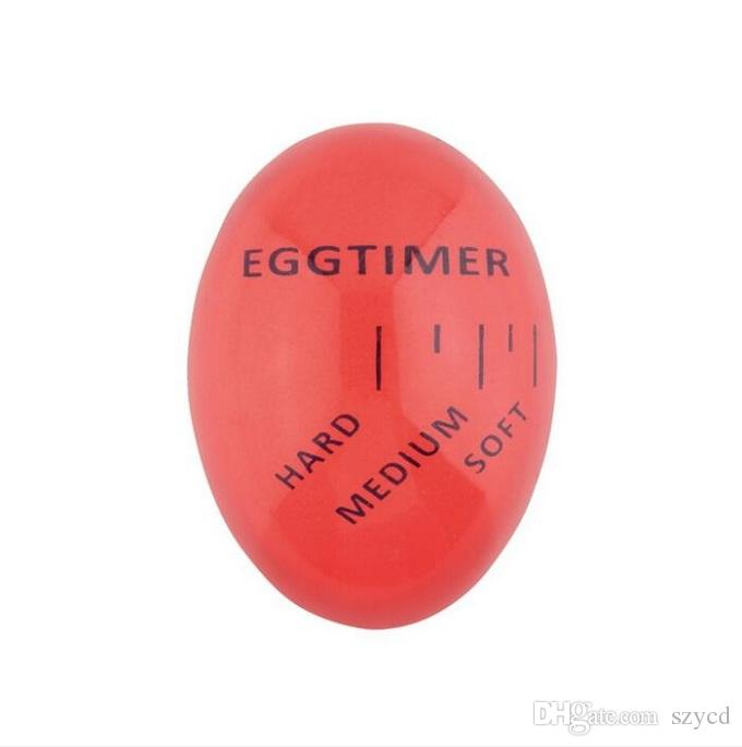 Innovative Color Changing Egg Timer Heat Sensitive Hard/Medium/Soft Boiled Egg Timer Perfect Kitchen Tool by Moxe