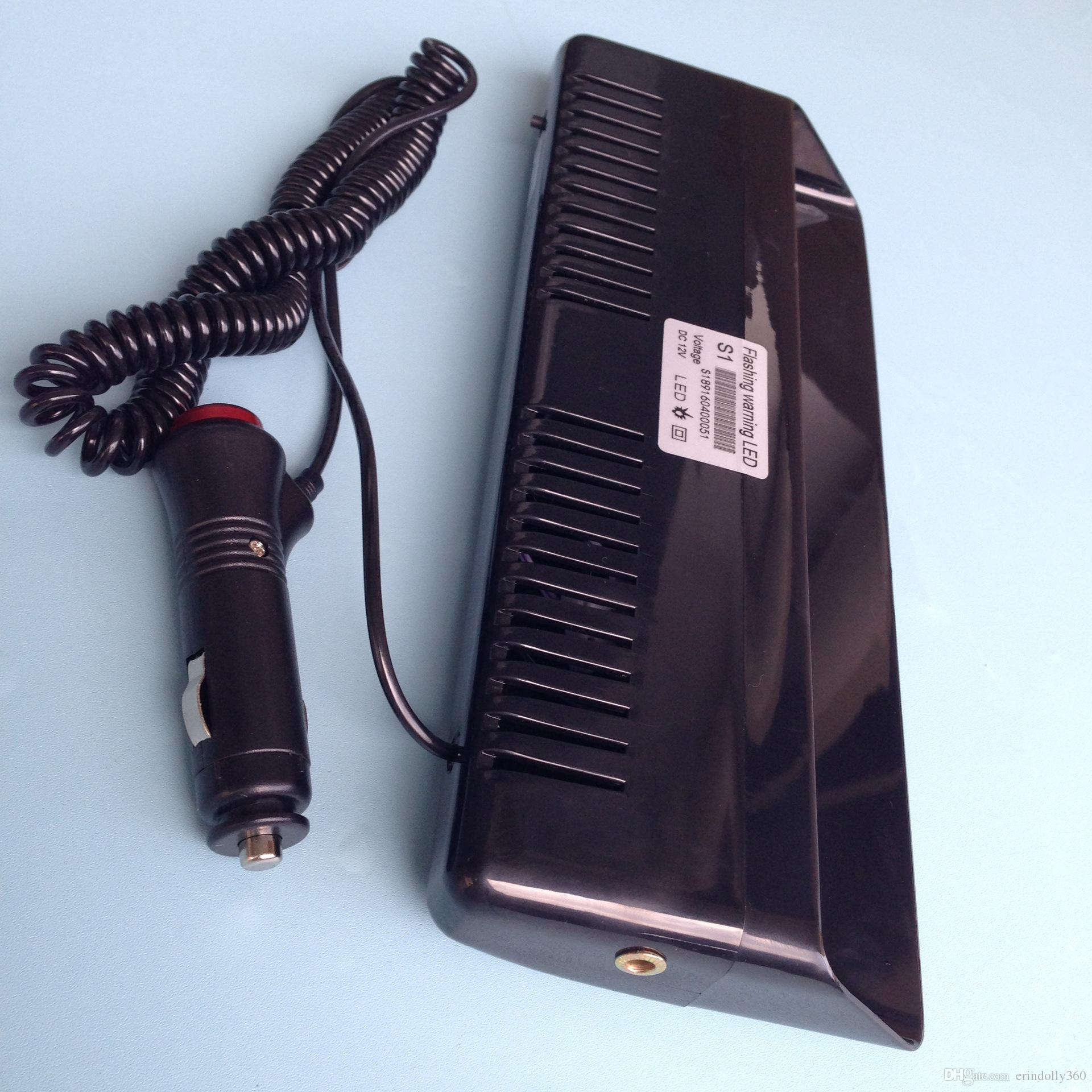 9 LED Car Truck Car High Power Dash Strobe Warning Flash Luce di emergenza avverte la lampada