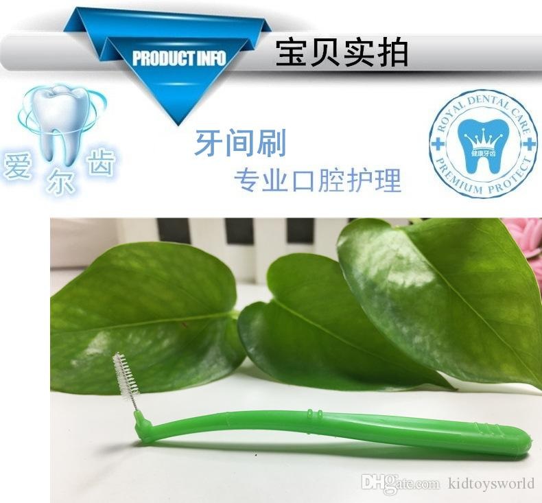 Interdental Floss Brush with customized package Interdental Brush Toothpick Tooth Pick Brush Tooth Cleaning