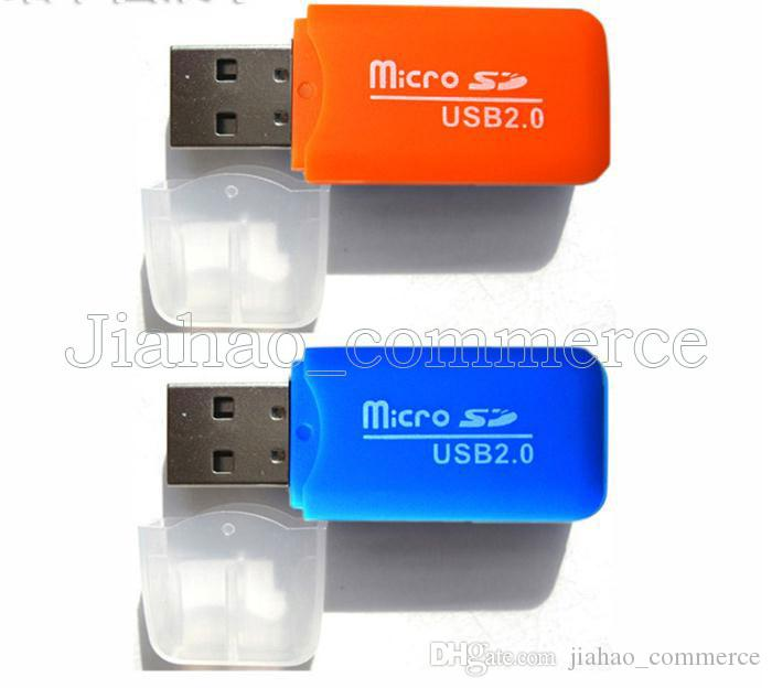 Stable Premium Universal Card Readers TF T-Flash Micro Secure Digital Memory Card Nice Mini USB 2.0 Memory Card Reader Adapter TransFlash