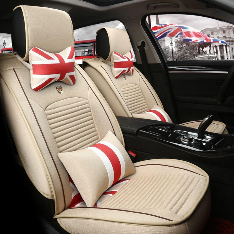 Fashion Car Seats Cover 4 Runner Yaris/Vios English Style Vintage ...