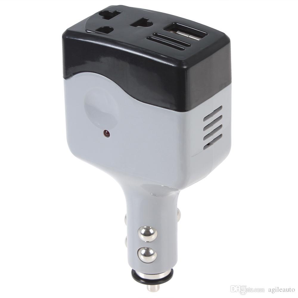DC 12 / 24V a CA 220V / USB 6V Convertitore di potenza automobile Convertitore auto inverter CEC_302