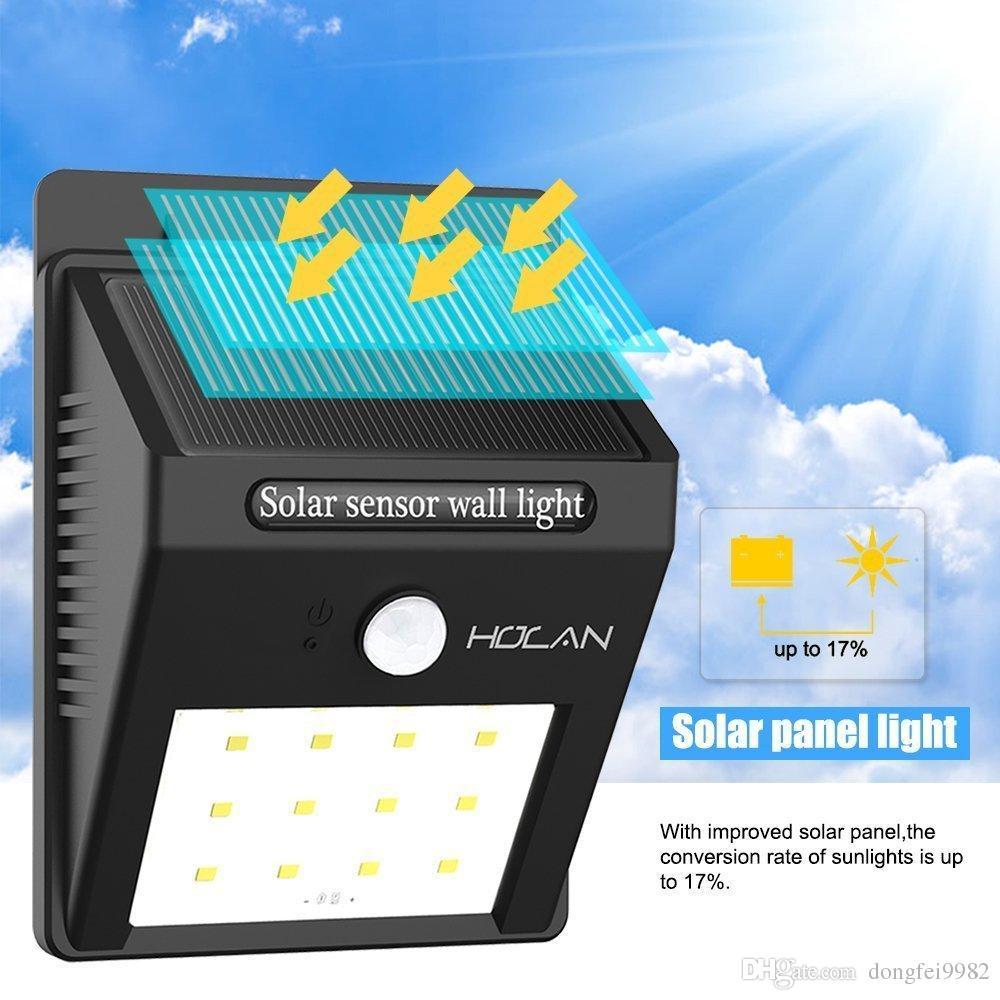 12 led solar lights iextreme waterproof solar powered motion sensor