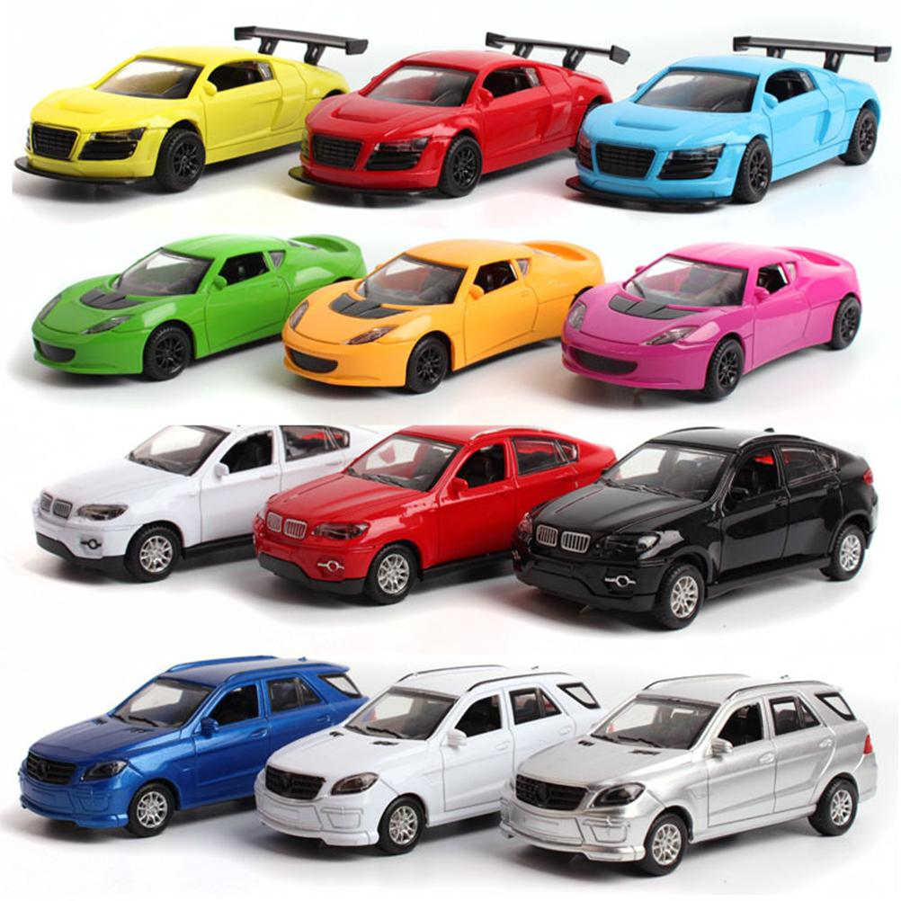 2018 1:36 Scale Pull Back Toy Cars Musical Diecast Model Kids Toys ...