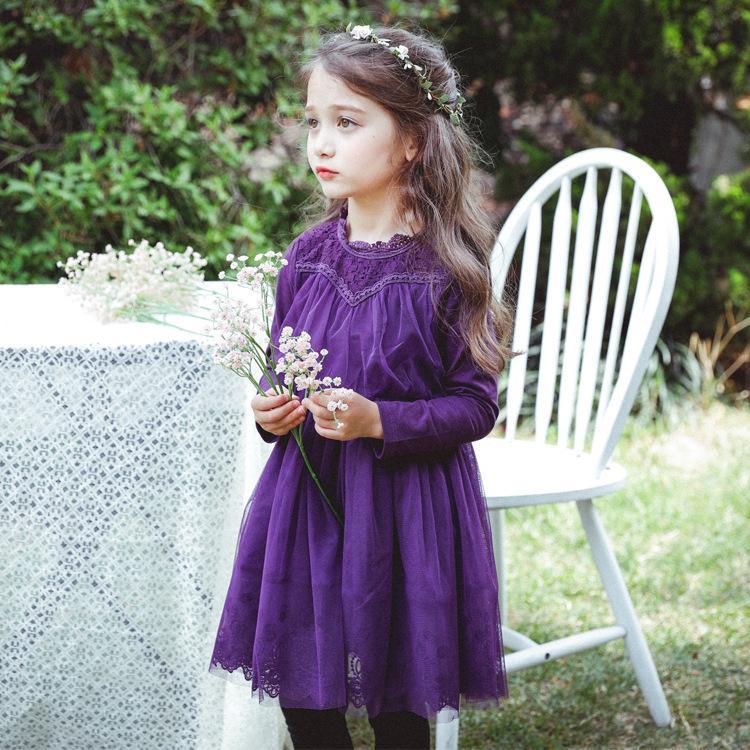 Compre Everweekend Girls Princesa Tutu Lace Partido Vestido De Color ...
