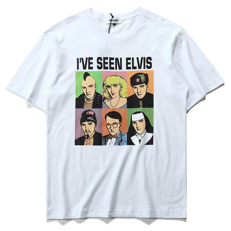 I 39 Ve Seen Elvis Avaters Printed Short Sleeve T Shirt Men