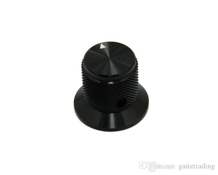 black 30*25mm HIFI electronic potentiometer knob DIY Digital part Sound volume switch knob Tube Amplifier knob