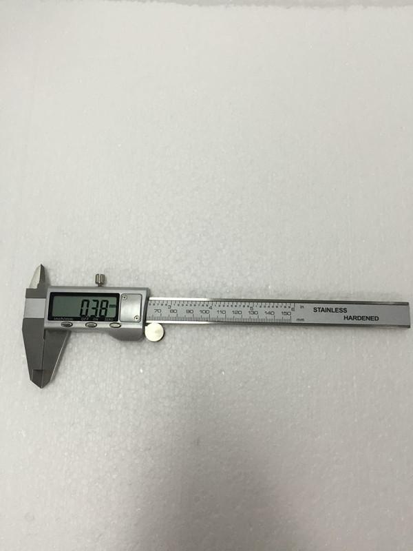 Digital Caliper 0-150MM 6 pollici in acciaio inossidabile Caliper cassa in metallo Digital Messschieber Digital calibro a corsoio con custodia in plastica