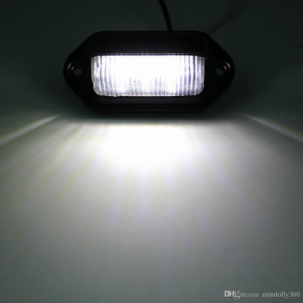 Auto LED Nummernschild Tag Licht 12V Seitenmarkierungsleuchten oder Convenience Courtesy Tür Schritt Lampe