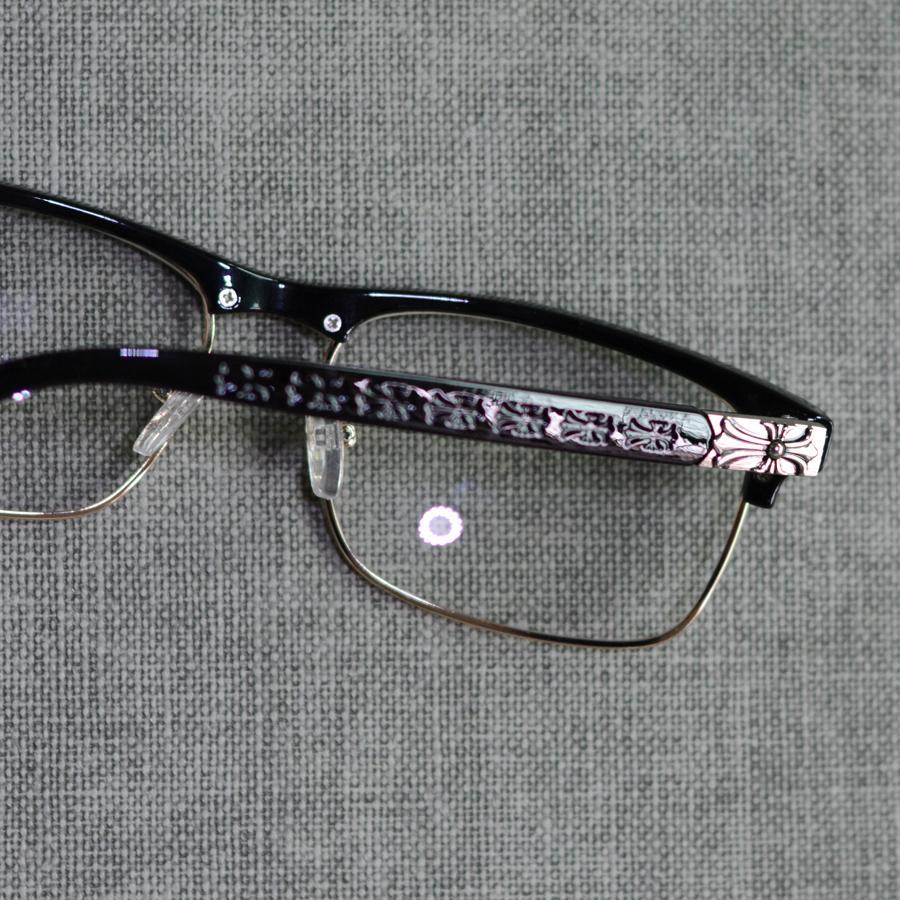 78dfa596f84 2019 Wholesale Toketorism Latest Trend Cross Eye Glasses Frames For Women  UV400 Men Chrome Retro Eyeglasses W808 From Amsunshine
