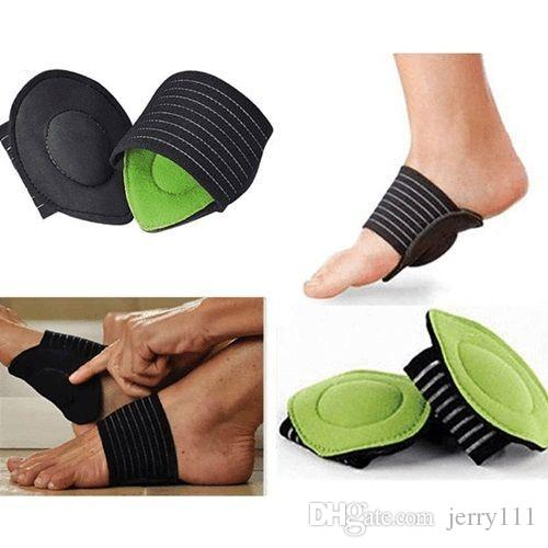 Strutz Feet Cushioned Arch Support Shock Absorbing Relief Achy Foot Flat Plantar Fasciitis Heel Aid Foot Feet Cushioned With Color box LC537