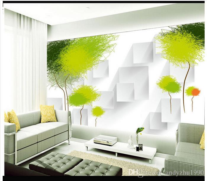 3d Photo Wallpaper Custom Wall Murals Wallpaper 3 D Abstract Tree  Contemporary And Contracted Setting Wall Murals 3d Living Room Wall Decor  Free High Res ... Part 70