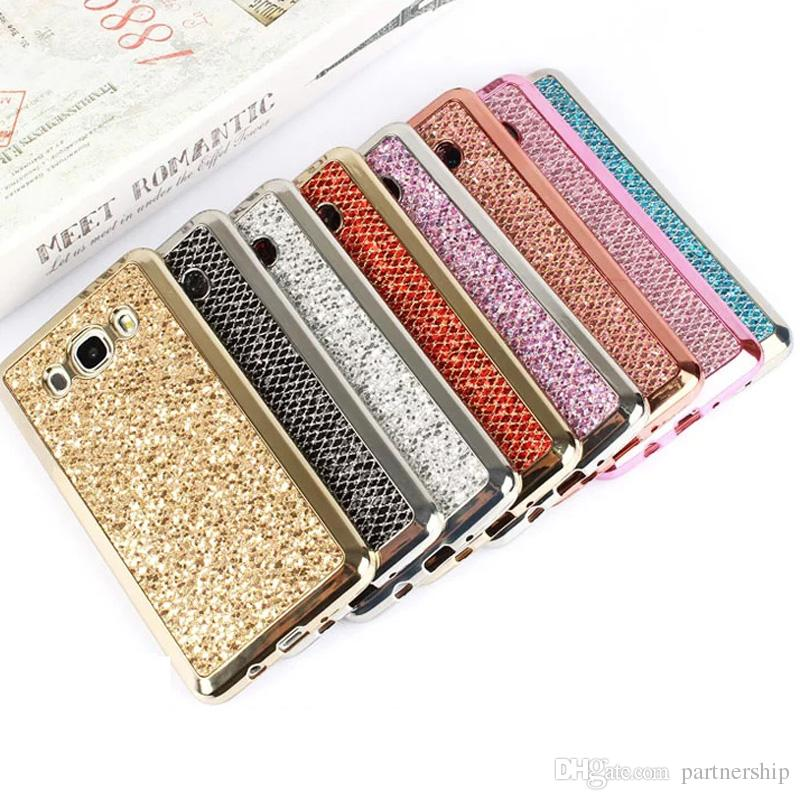 Luxury Bling Glitter Case For Samsung Galaxy J1 J2 J3 J5 J7 2015 J510 J710  J120 On5 On7 J5Prime J7Prime 2016 Soft TPU Fundas Cover Waterproof Cell  Phone ... 0bc419507592