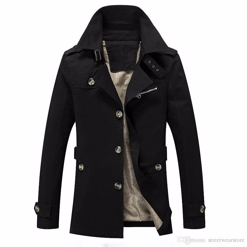 2017 herren Winterjacke Mode Windjacke Qualität Militärische Wasserdichte Männer Jacke Mantel Marke Kleidung Armee Casaco Masculino