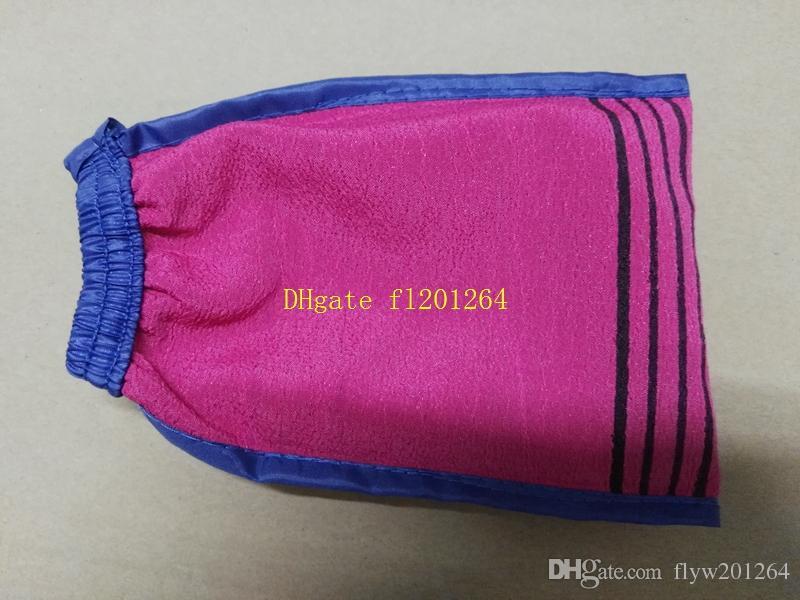 / Livraison Gratuite Double côté corée Hammam gommage gant de gommage gommage magique exfoliant bronzage suppression gant