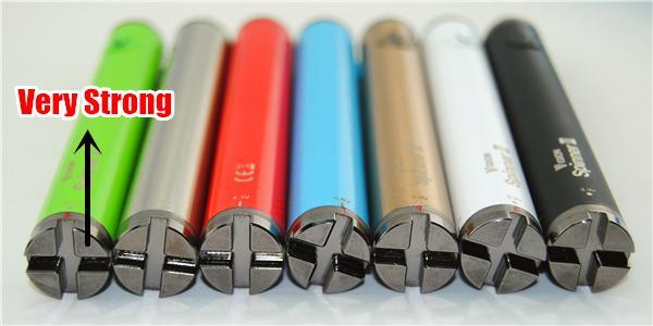 MOQ Visão Spinner 2 bateria 1650 mah ecig enorme vapor de tensão variável baterias e cig vape ePacket Airport Post Frete Grátis