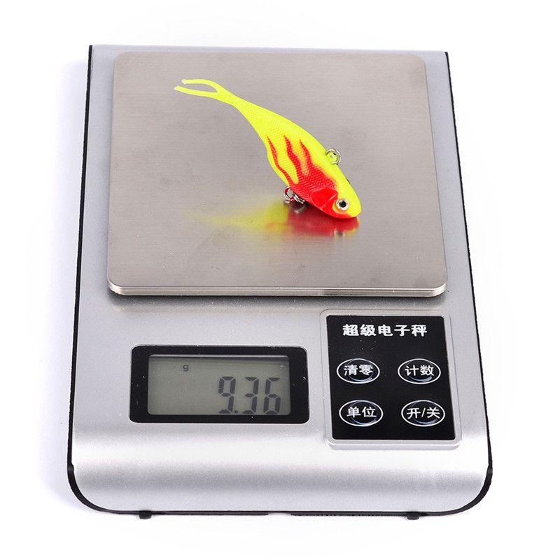 New Plastic Vibration false fishing lure 7.8cm 9g Simulation fish Freshwater Diving Fishing Baits