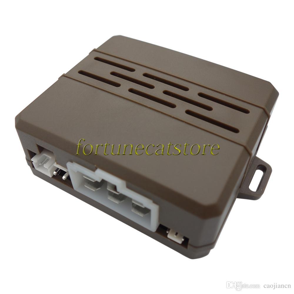 Universal RFID Car Engine Push Start Module Mini Unit with Push Button Start & 2 Transponder Immobilizers Keyless Go