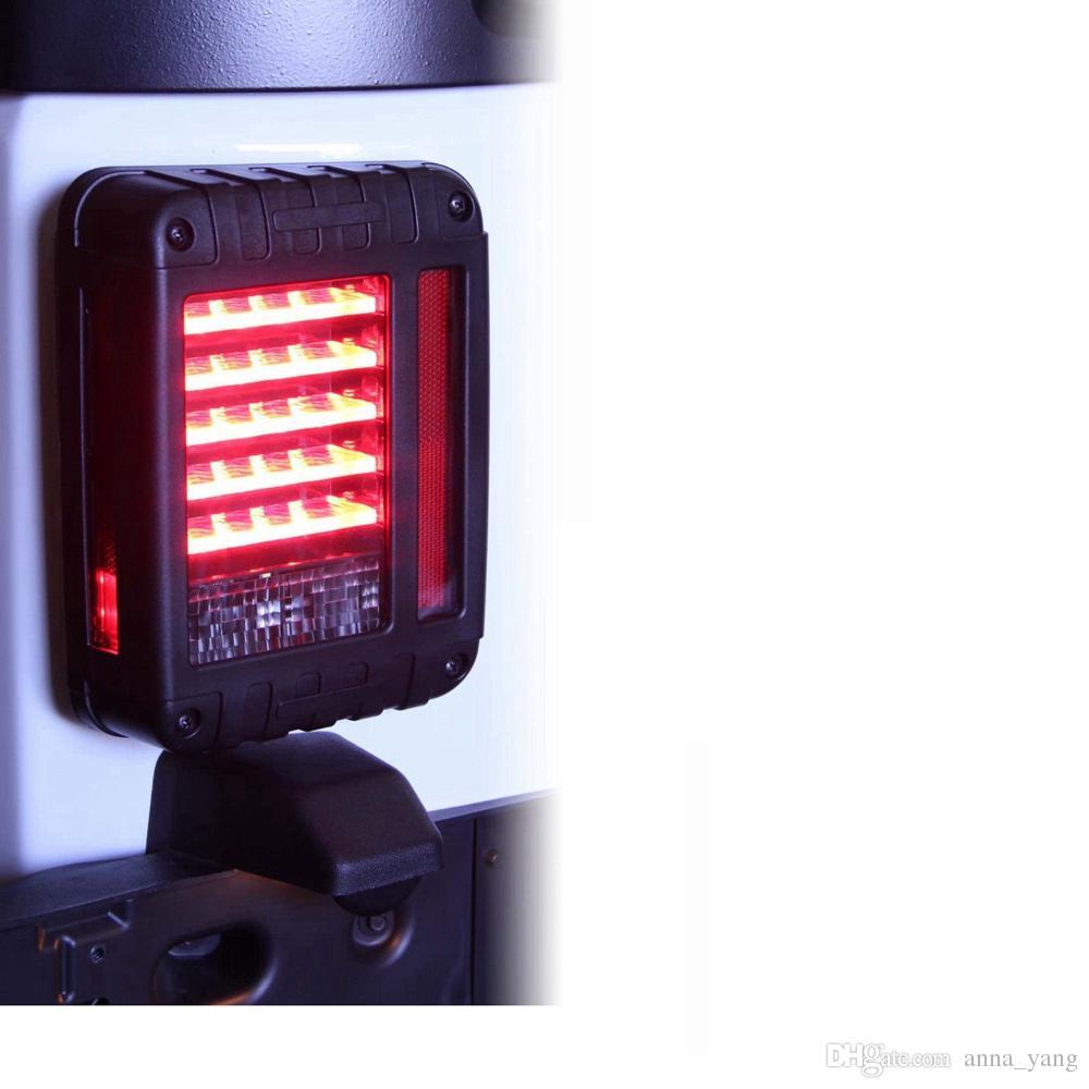 LED задний фонарь комплект задний фонарь тормоз обратный поворот Singal лампа дневного света DRL для 2007-2015 Jeep Wrangler неограниченное JK
