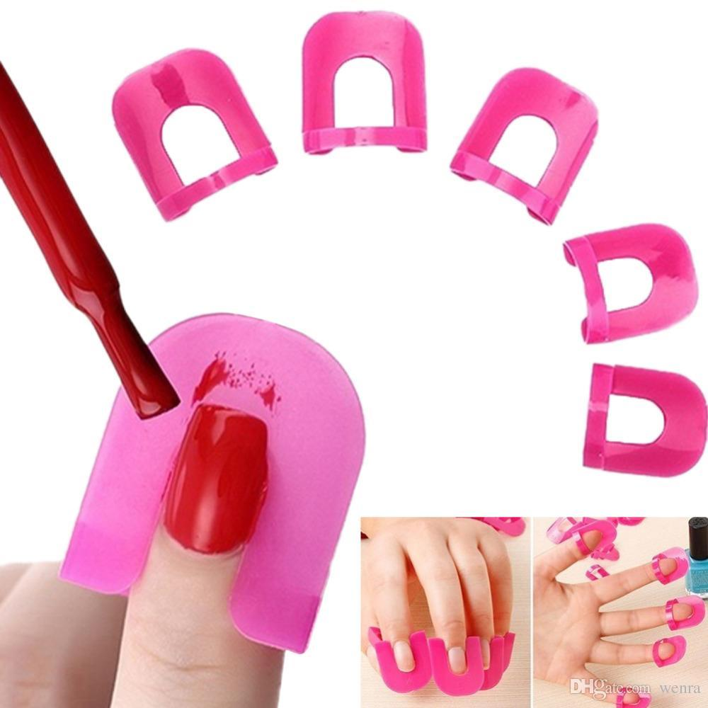 Wholesale Professional Nail Polish Curve Manicure Finger Inside ...