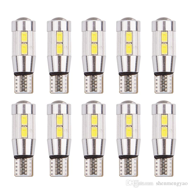 Atv,rv,boat & Other Vehicle 10x Led T10 W5w Canbus Error Free Car Cob Tail Side Lamp Backup Bulb Light White Online Shop
