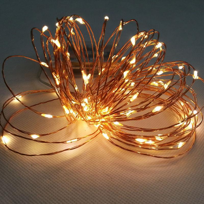 2017 Hotsale Led Battery Waterproof Led Copper Wire String Lights ...