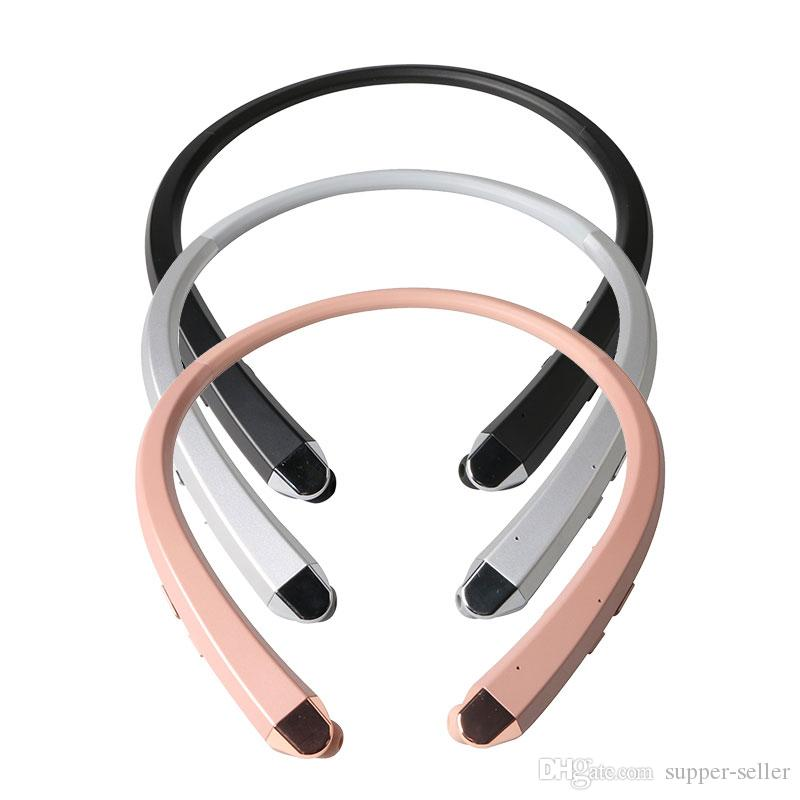 New HBS-910 HBS 910 CSR 4.0 Tone Infinim Wireless Bluetooth Headphones Sports Neckband Earphone Handsfree HBS910 for iphone7