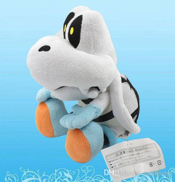 New Super Mario Dry Bones Turtle Plush Toy Death's-head Tortoise Stuffed Animal Doll Approx 23cm/9""
