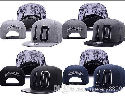 ef815f7a9 SHOHOKU SLAM DUNK N0.10 Neymar JR njr Baseball Caps hip hop Sports Snapback  cap bone spacejam WU-TANG hats for Men Women Casquette
