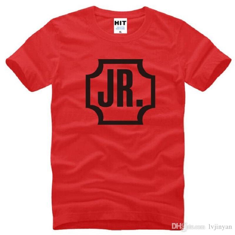 Новое лето GOT7 JR футболки мужчины хлопок с коротким рукавом О-образным вырезом печатных Funs Jae Bum мужская футболка мода мужской музыкальной группы Топ тис