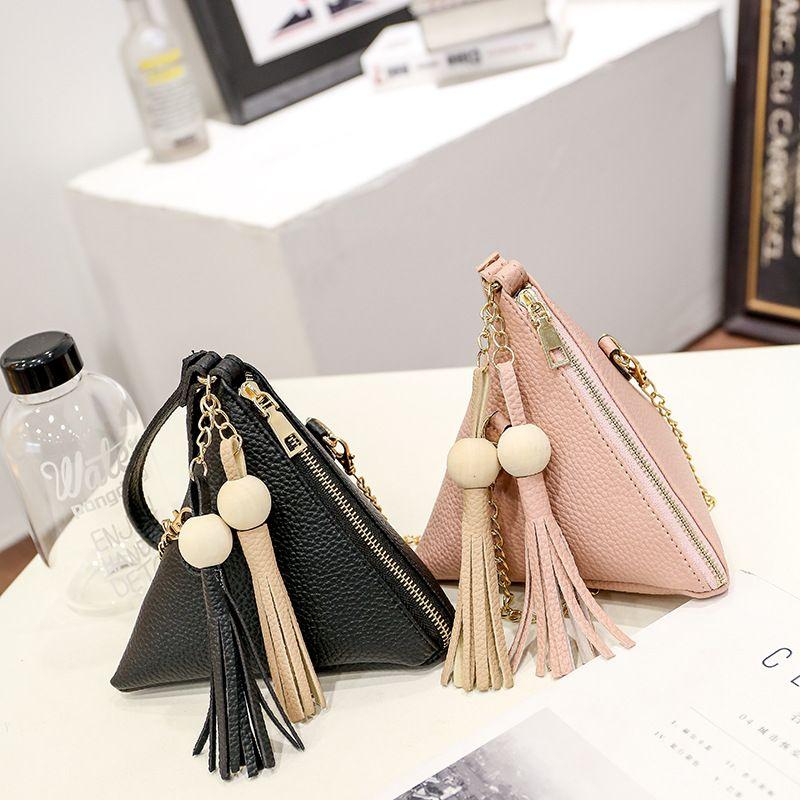 b219b9be05aa 2017 Spring New Triangular Women Designer Handbags Korean Version ...
