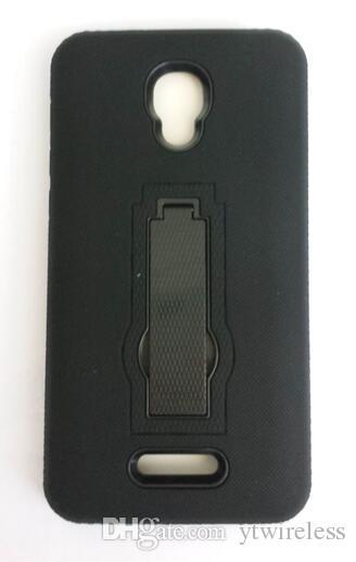 wholesales Hybrid Cases Rugged Defender Case Kickstand Cover for ZTE Grand X4 Warp 8 N9517 N9519 TempoX N9137 Avid 4 N9131 ZTE Blade X Z965