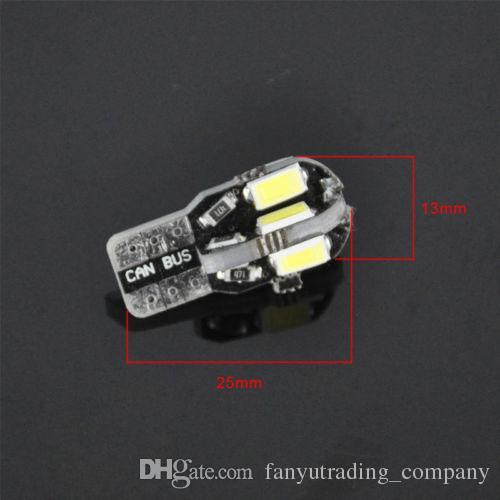 Neue Canbus T10 194 168 W5W 5730 8 LED SMD weißes Auto-seitliches Keil-Licht Lampen-Birnen-Kennzeichenlicht 12V