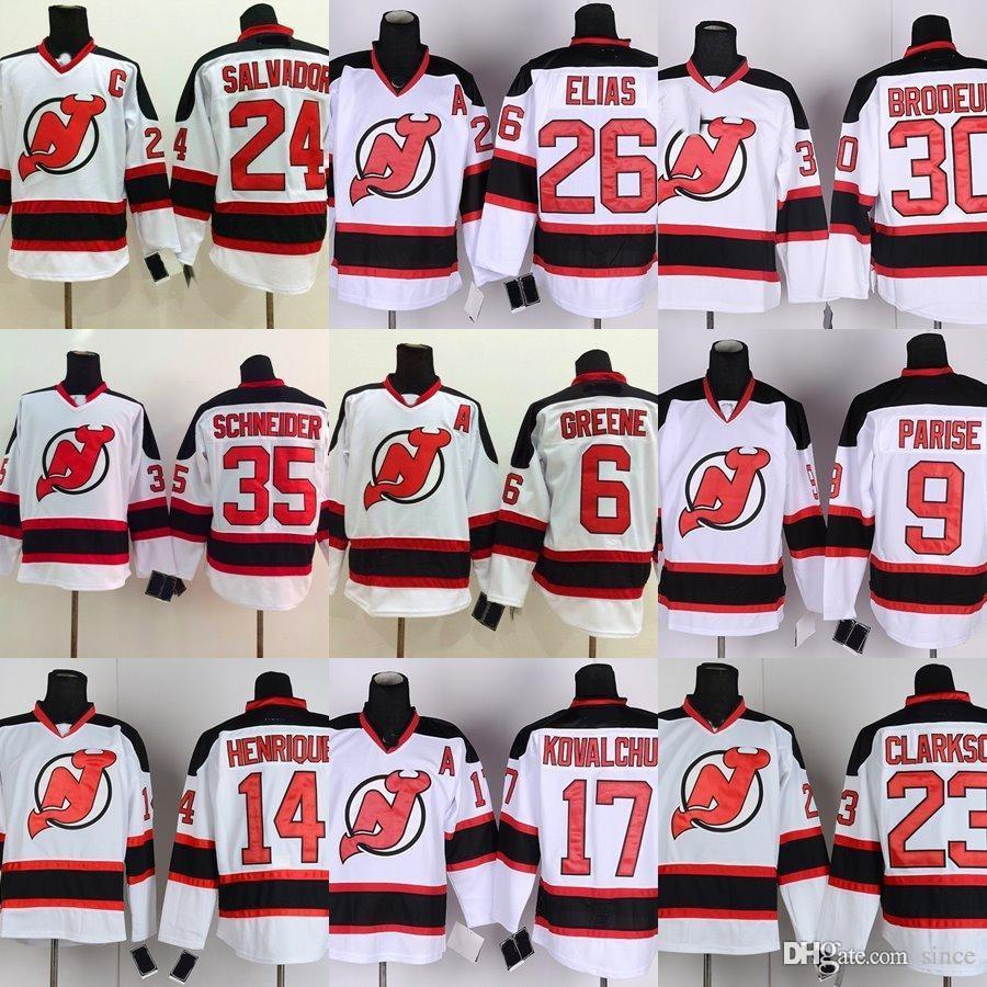 4e4480c6b Factory Outlet Men s New Jersey Devils Henrique Elias Jagr Kovalchuk ...