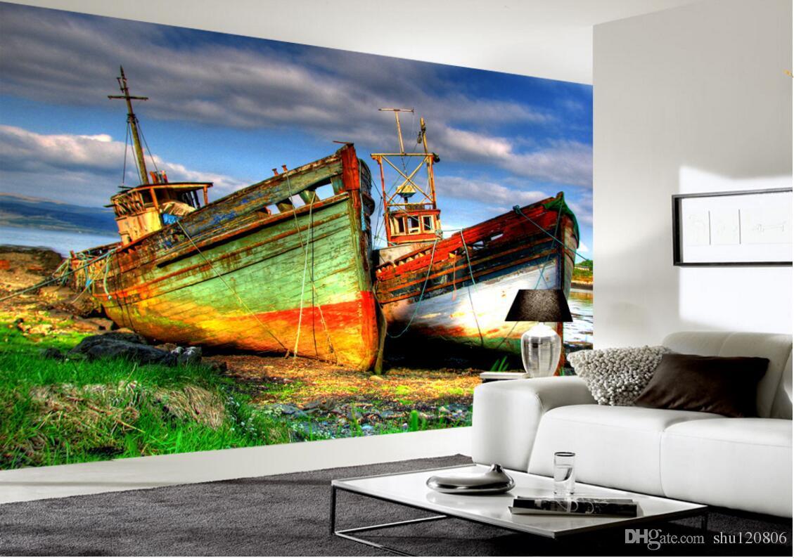 3d Room Wallpaper Custom Photo Non Woven Mural Colorful