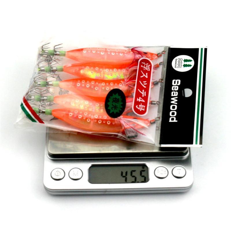 Горячие светящиеся кальмары джиги приманка 9.1 г 10 см каракатицы осьминог приманки искусственные Креветки Креветки отсадки приманки
